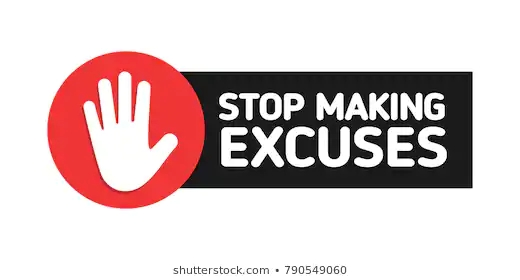 stop-making-excuses-red-road-260nw-790549060.jpg